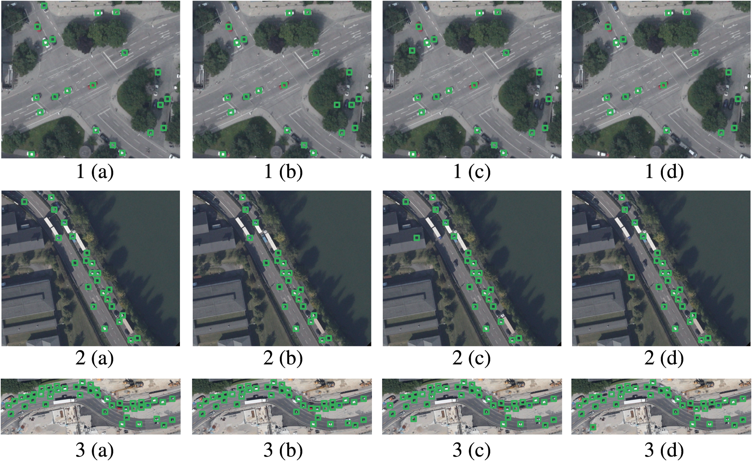 Urban vehicle detection in high-resolution aerial images via