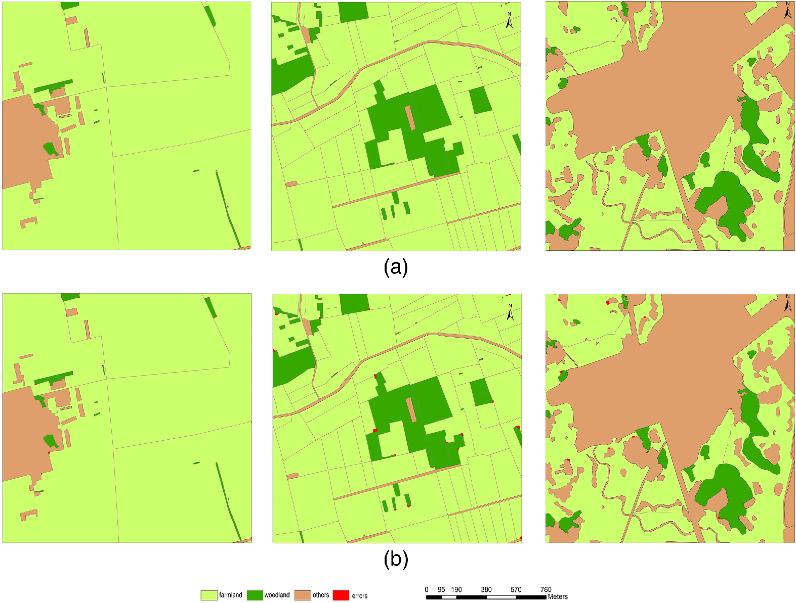 Segmentation model based on convolutional neural networks