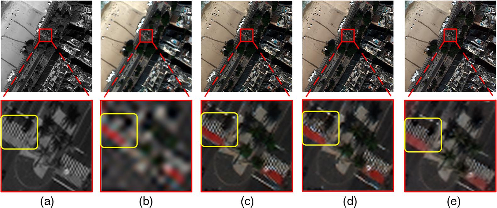 SFTGAN: a generative adversarial network for pan-sharpening