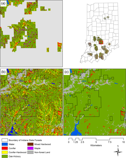 Mapping hardwood forests through a two-stage unsupervised ... on precipitation map, land use map, tree zone map, plant map, density map, planting map, climate map, sugar maple map, terrain map, tree biome map, wood map, types of trees map, tree kingdom map,