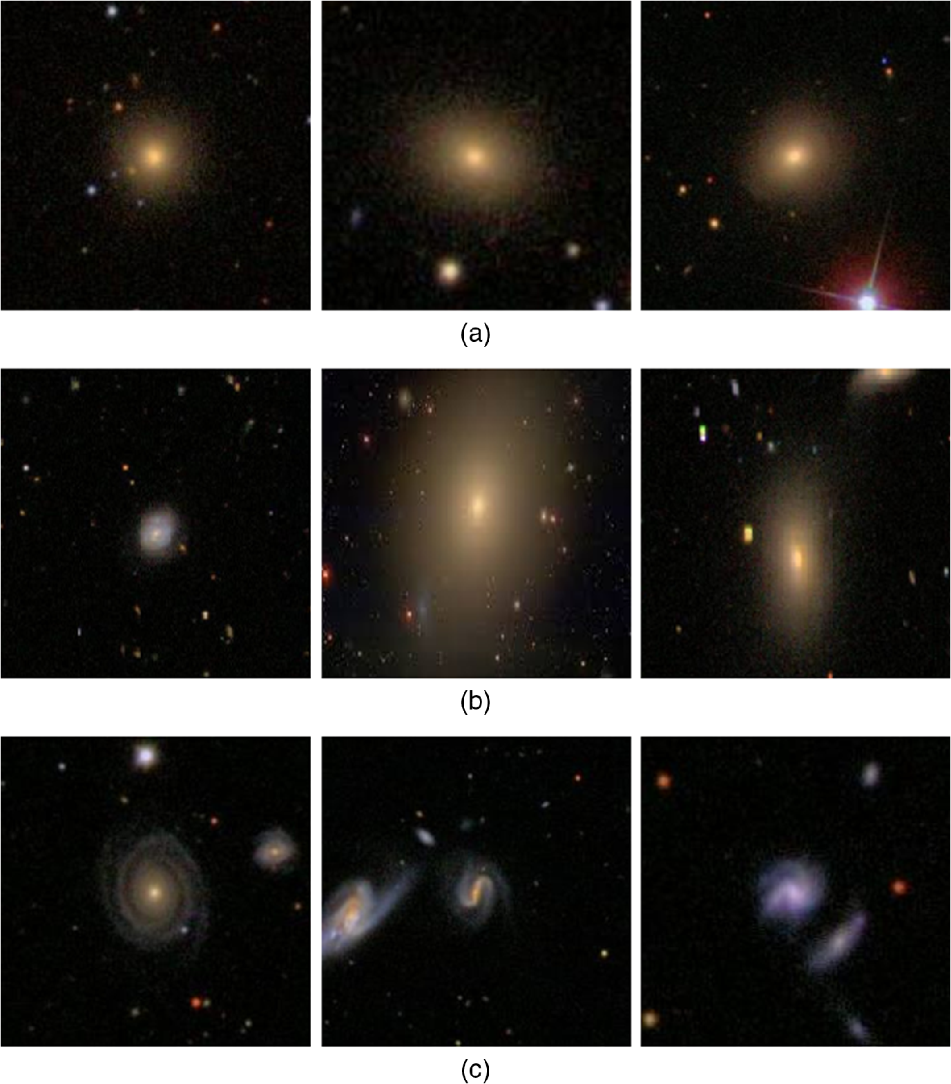 Galaxy images classification using hybrid brain storm optimization