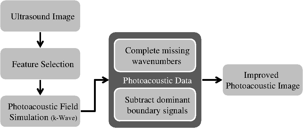Ultrasound-guided photoacoustic image reconstruction: image