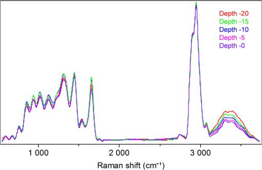 Raman spectroscopy: in vivo quick response code of skin