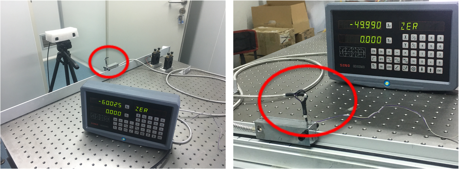 Optical surgical instrument tracking system based on the