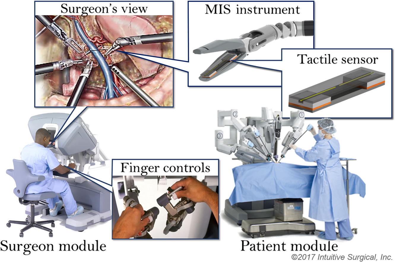Tactile Sensing and Display: Haptic Feedback For Minimally Invasive Surgery And Robotics