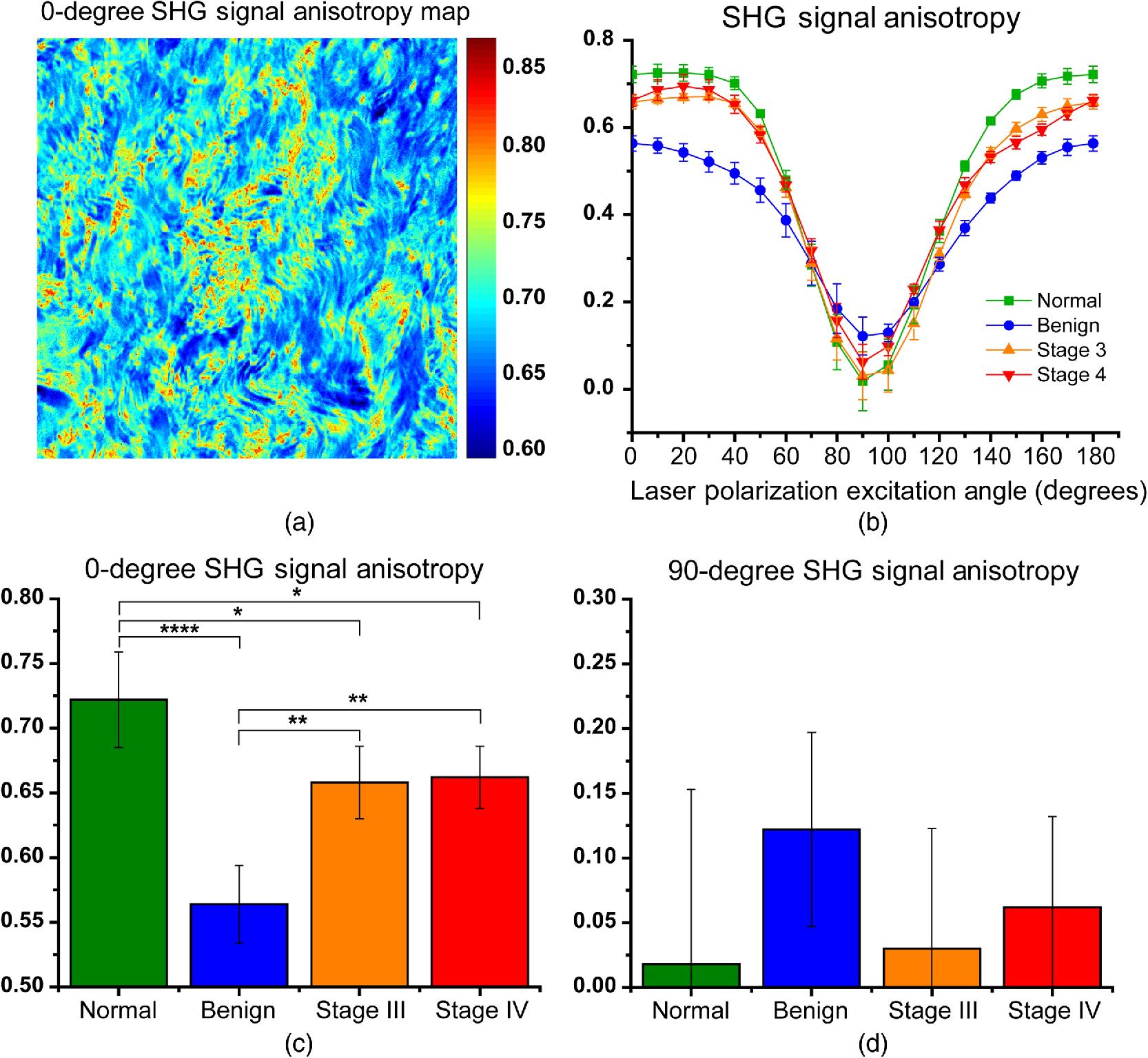 Polarization-resolved second harmonic generation imaging of