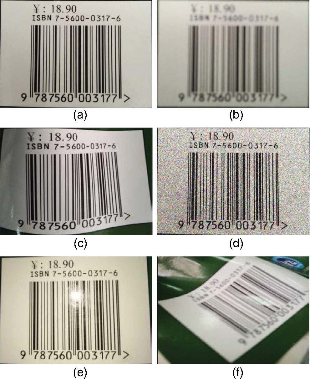 Automatic barcode recognition method based on adaptive edge