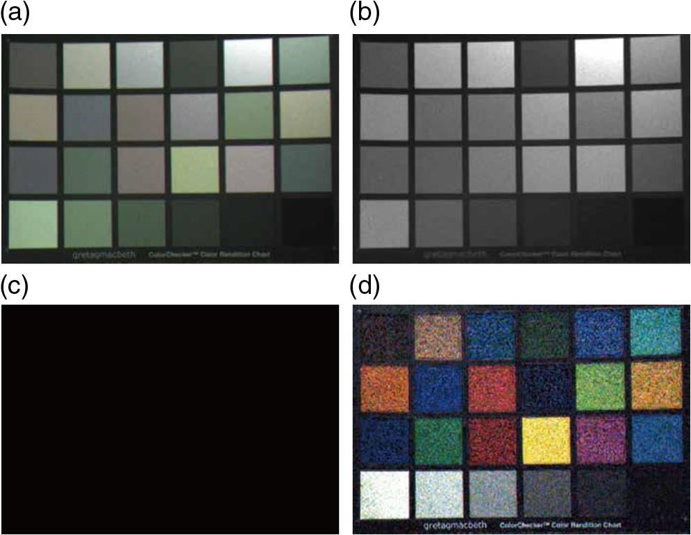 Low-light color image enhancement via iterative noise