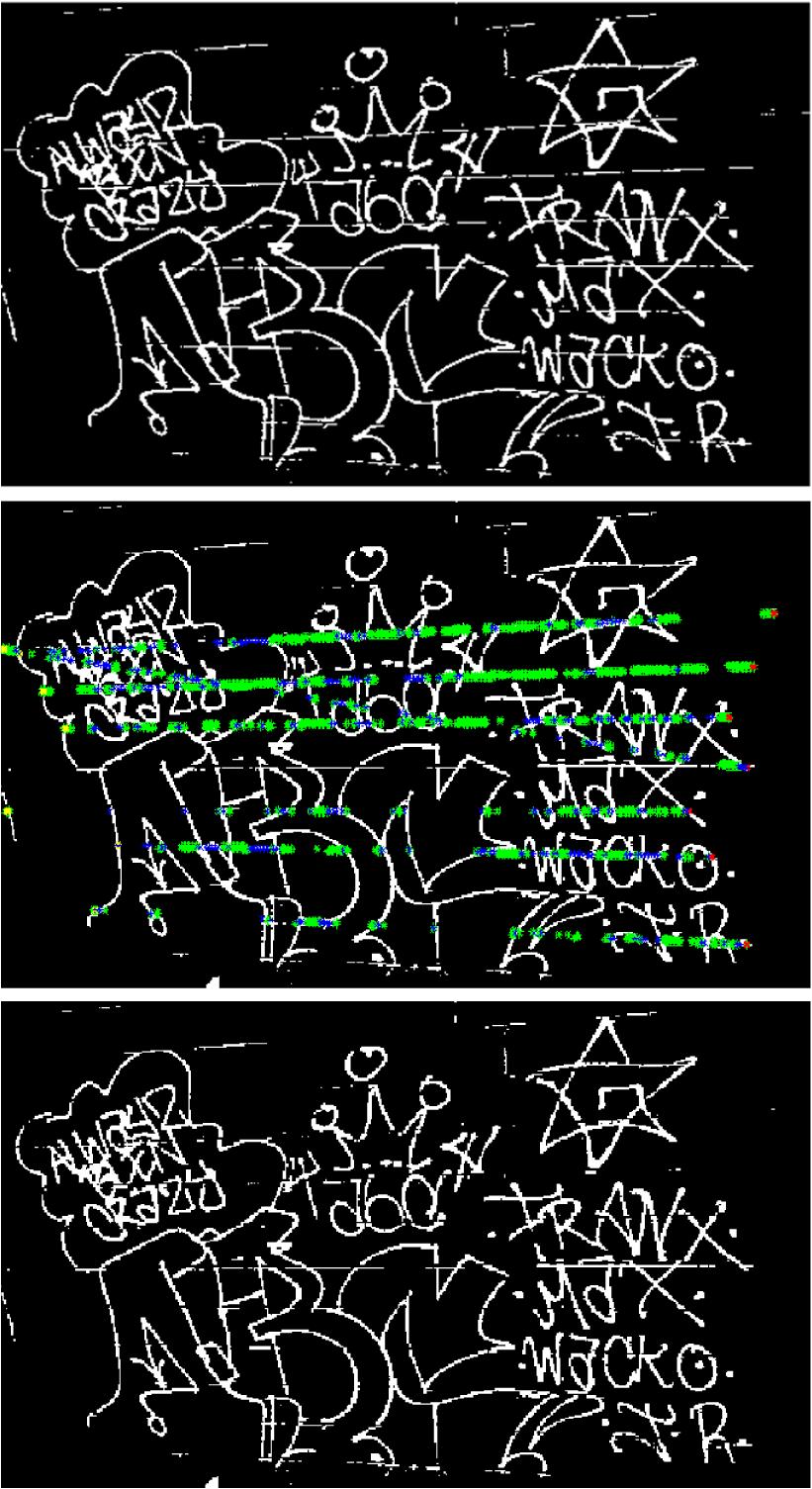 Automatic gang graffiti recognition and interpretation
