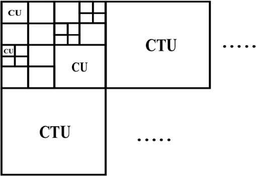 Temporal error concealment using quad-tree prediction and