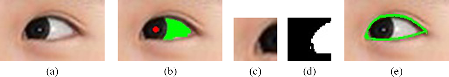 Eye and mouth state detection algorithm based on contour feature
