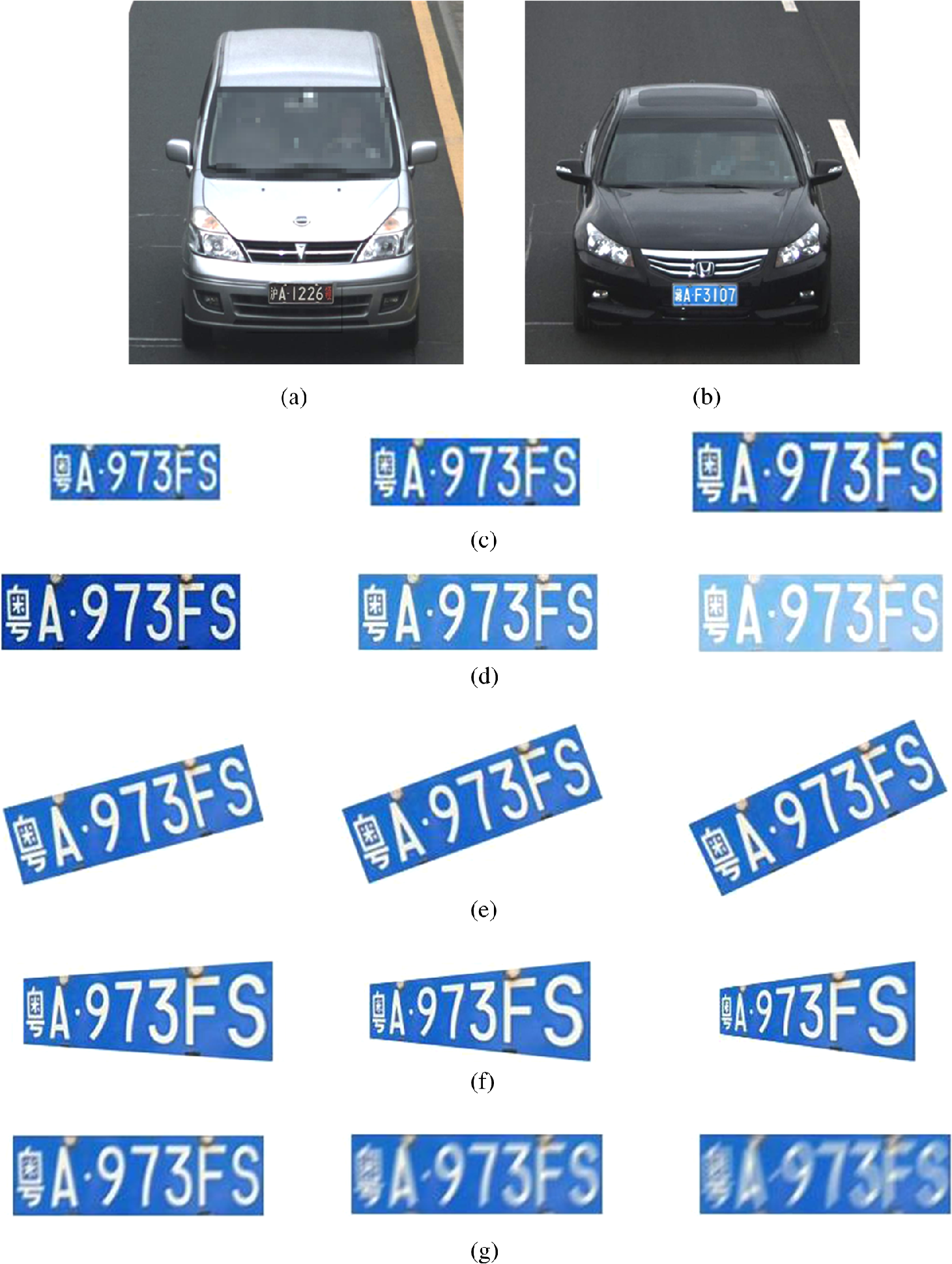 Chinese license plate image database building methodology