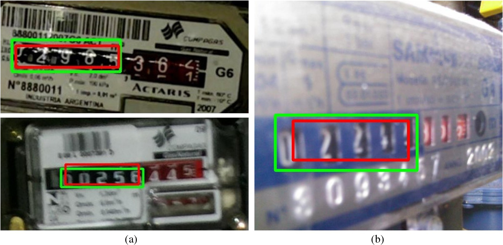 Convolutional neural networks for automatic meter reading