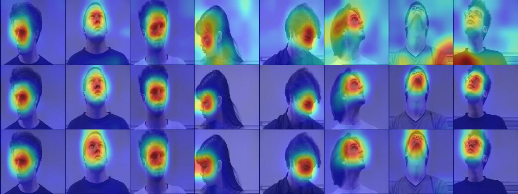Head pose estimation using deep multitask learning