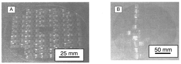 Water-soluble polymer templates for high-resolution pattern
