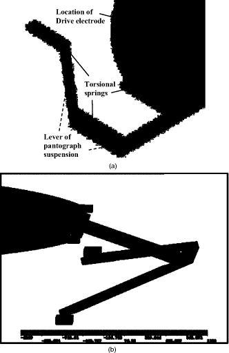 Translatory MEMS actuators for optical path length