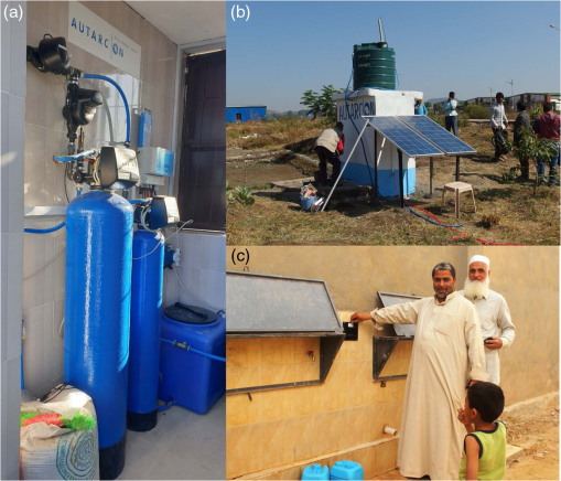 Sustainable solutions for solar energy driven drinking water