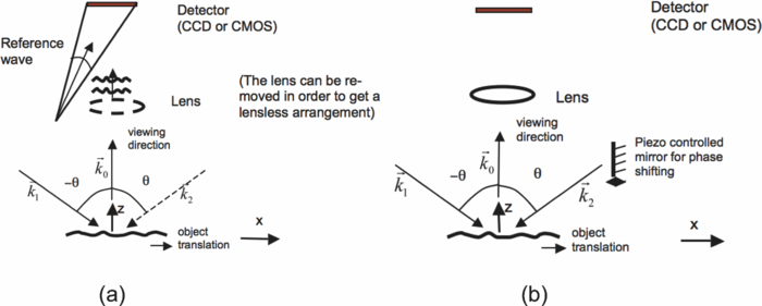 Measurement of nano/micro out-of-plane and in-plane displacements of