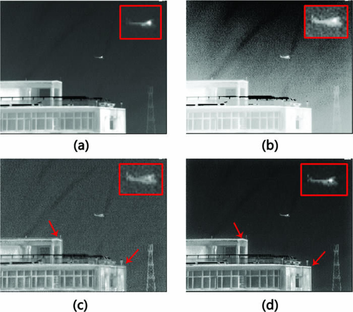 Display and detail enhancement for high-dynamic-range infrared images
