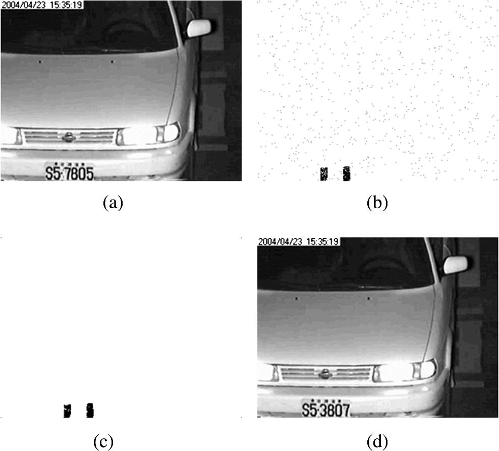Optimal pixel-level self-repairing authentication method for