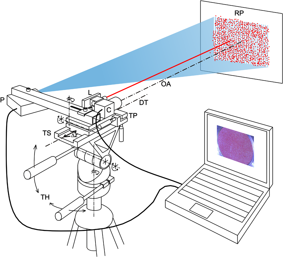 Integrating fringe projection and digital image correlation