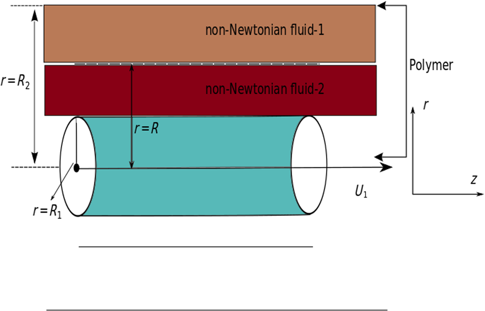 Two-phase coating flows of a non-Newtonian fluid with linearly ...