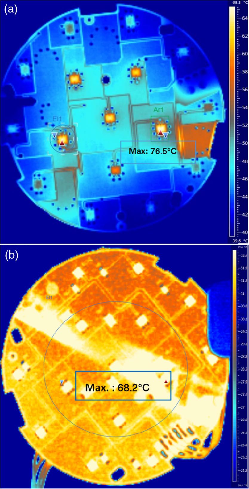 Conduction-driven cooling of LED-based automotive LED lighting