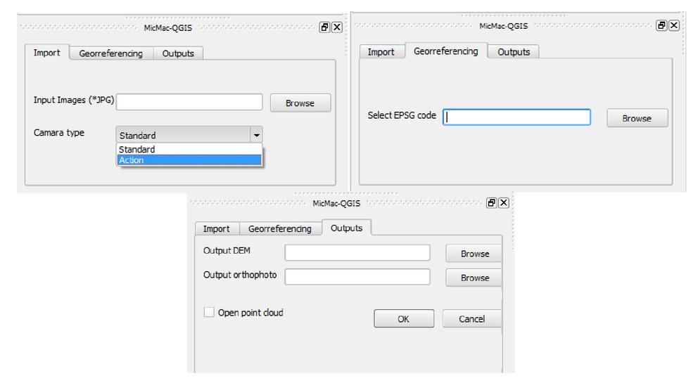 MicMac GIS application: free open source