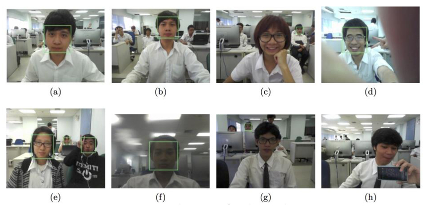 A real-time face recognition for class participation
