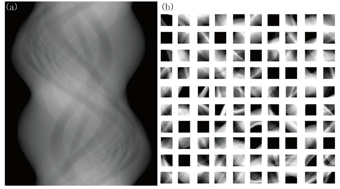 View-interpolation of sparsely sampled sinogram using