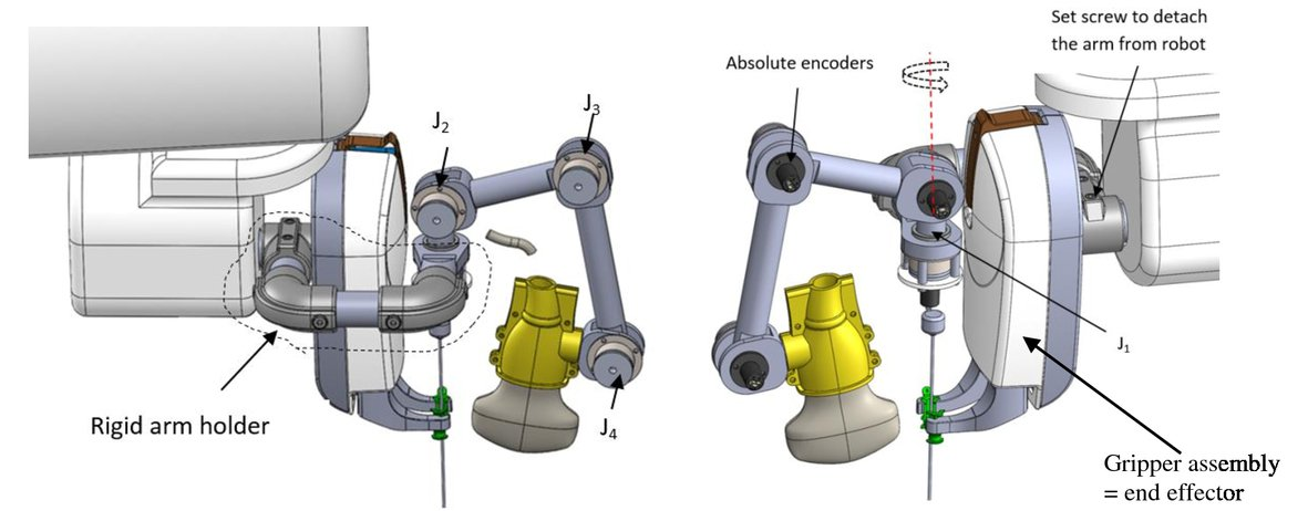 Enabling image fusion for a CT guided needle placement robot