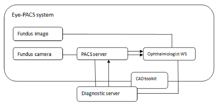 The design and integration of retinal CAD-SR to diabetes