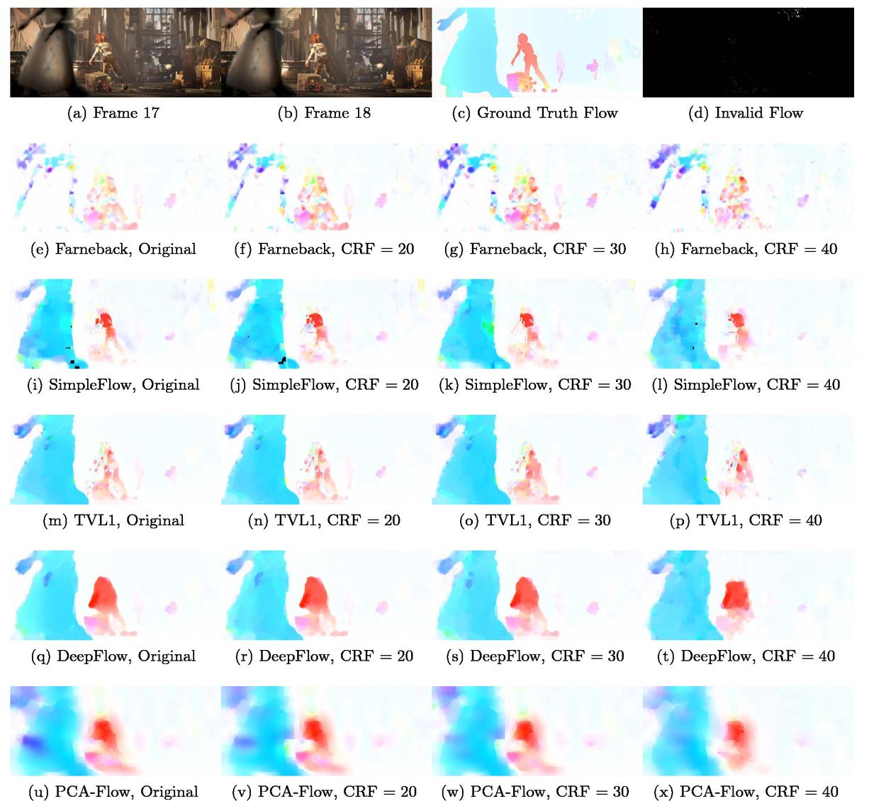 Opencv Farneback Optical Flow