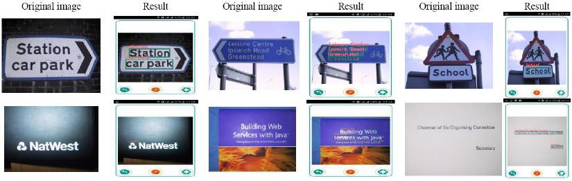 A framework of text detection and recognition from natural images