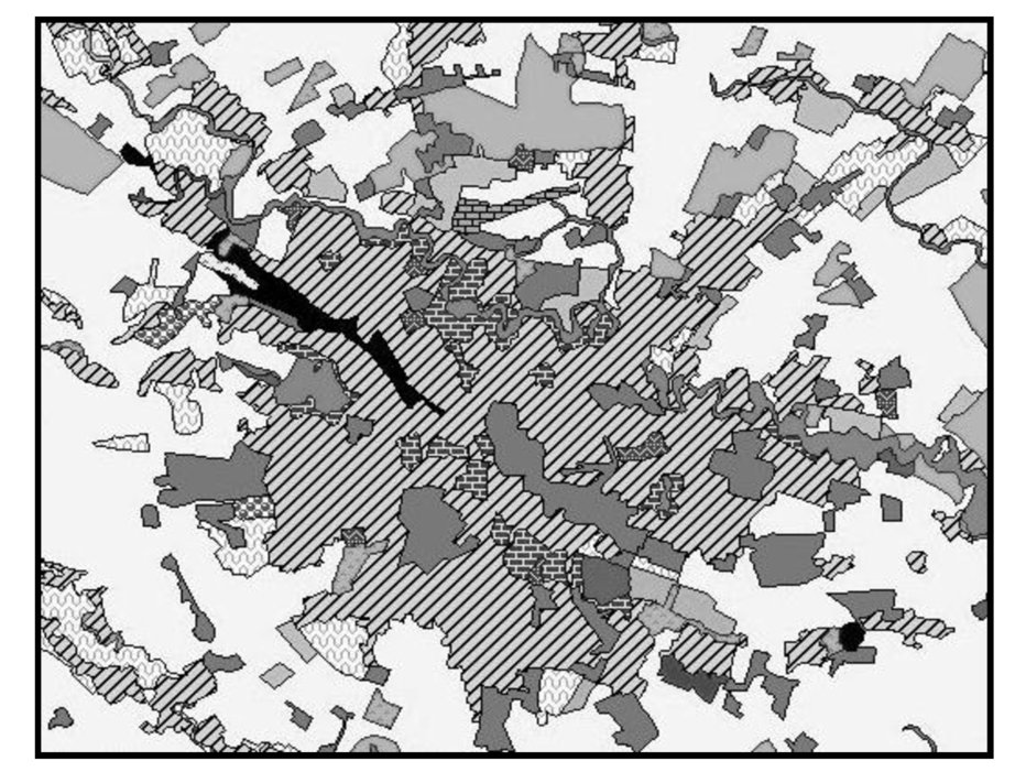City Landscape Changes Effects On Land Surface Temperature In