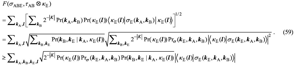 On problems in security of quantum key distribution raised