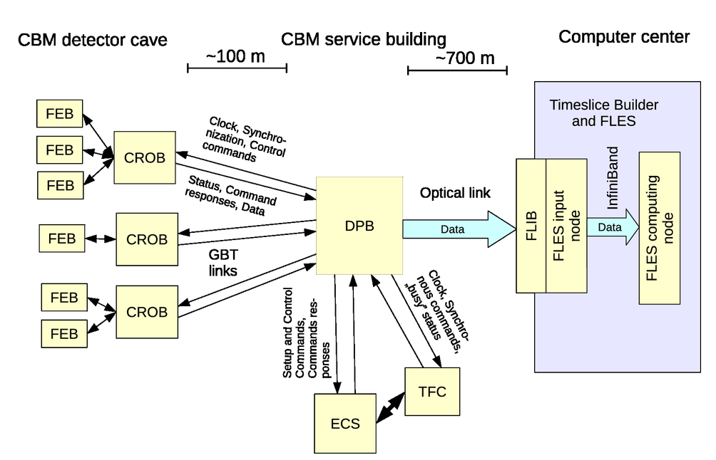 Selection of hardware platform for CBM Common Readout Interface