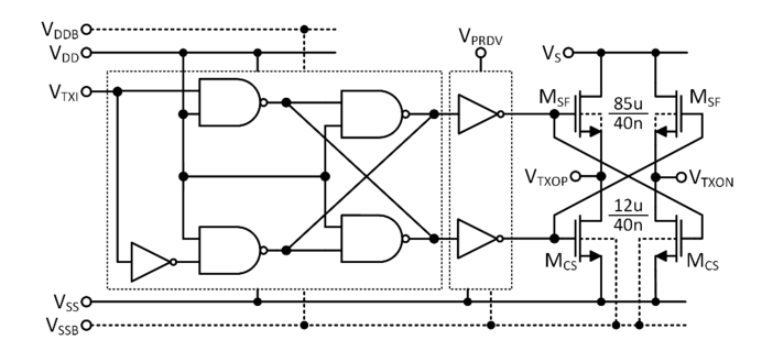 4 Gbps Scalable Low-Voltage Signaling (SLVS) transceiver for