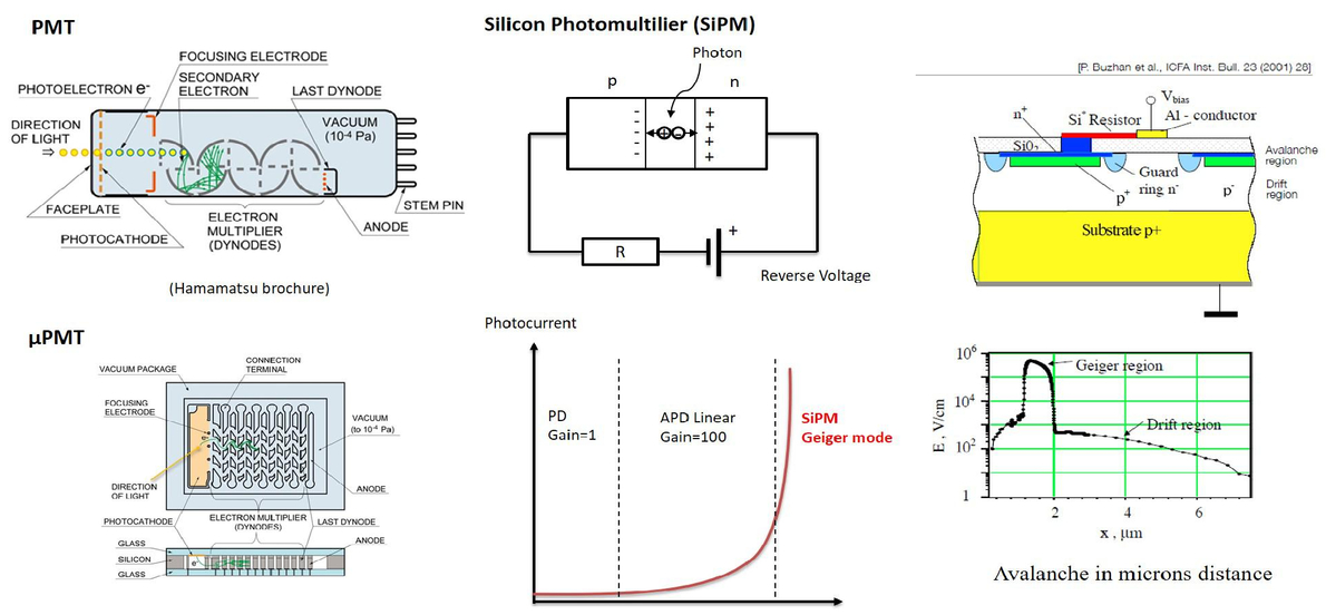 Photon spectroscopy by picoseconds differential Geiger-mode