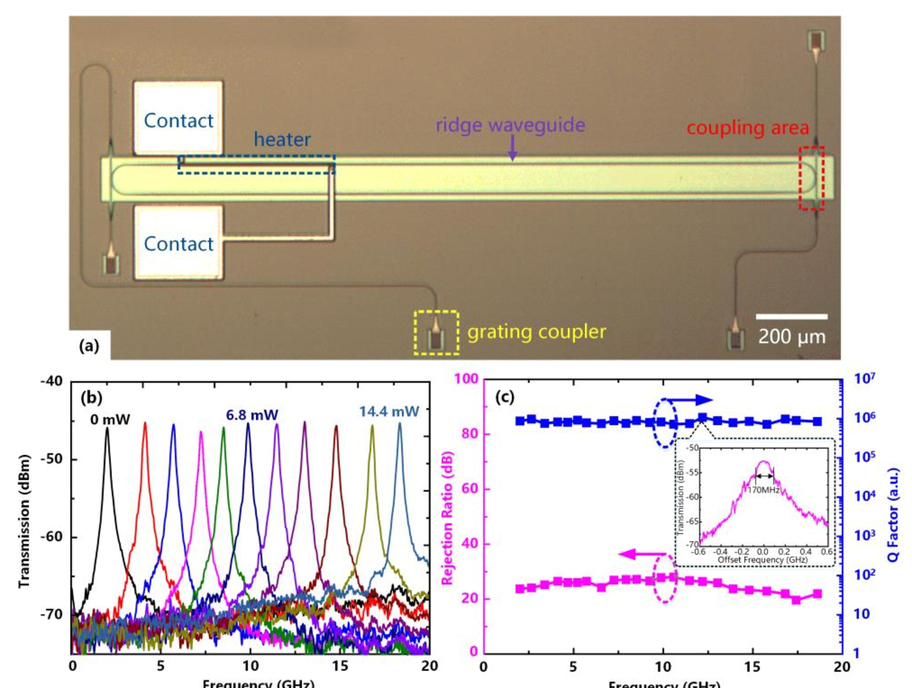 Advances on silicon-based integrated microwave photonics