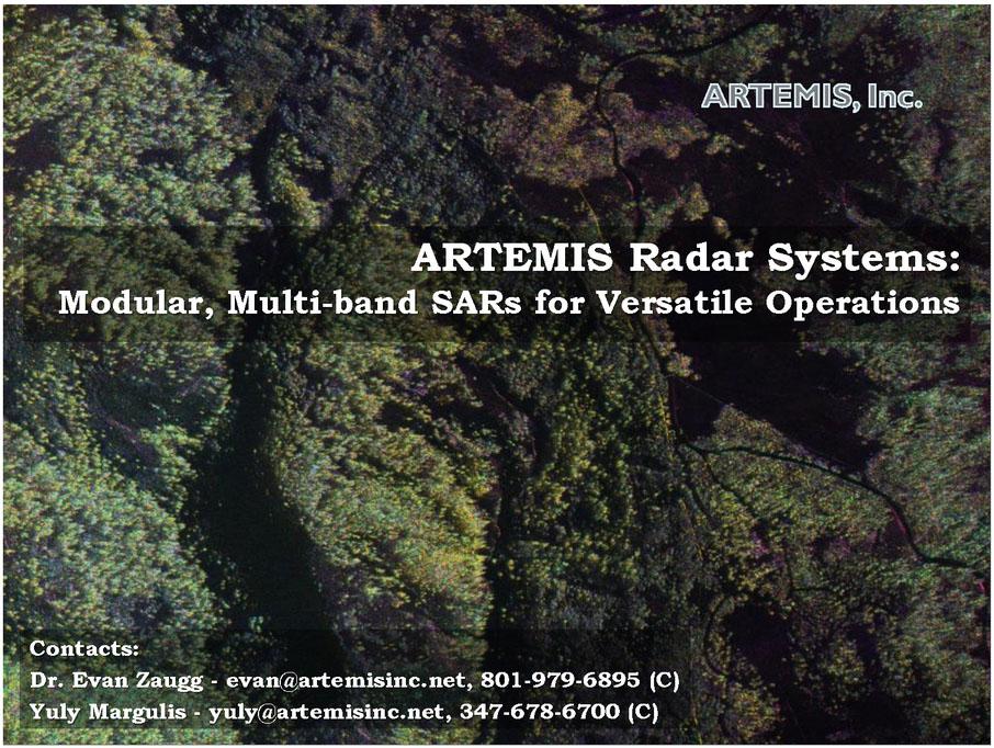 ARTEMIS radar systems: modular, multi-band SARs for versatile operations