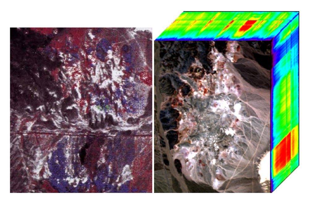 Applications of hyperspectral image analysis for precision