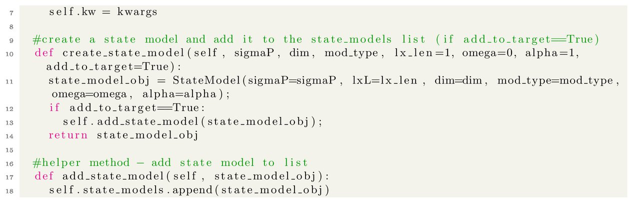 pystemlib: towards an open-source tracking, state estimation, and