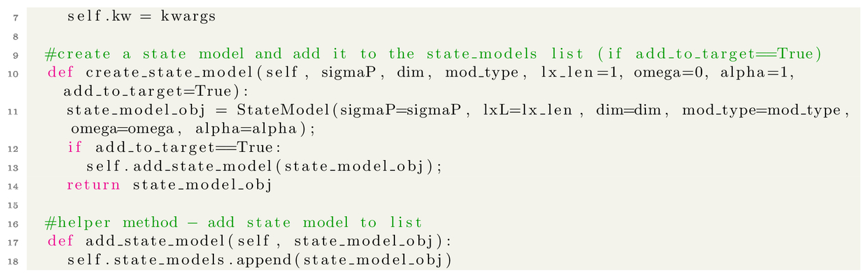 pystemlib: towards an open-source tracking, state estimation