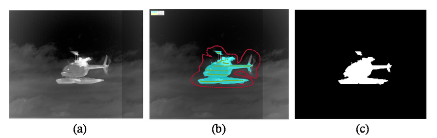 Deep neural network for precision multi-band infrared image segmentation