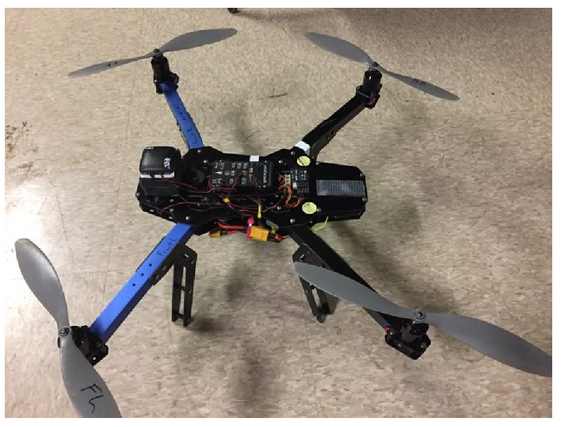 An unmanned aerial system for the detection of crops with