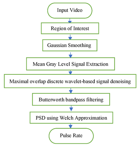 Extraction of vital signs using real time video analysis for