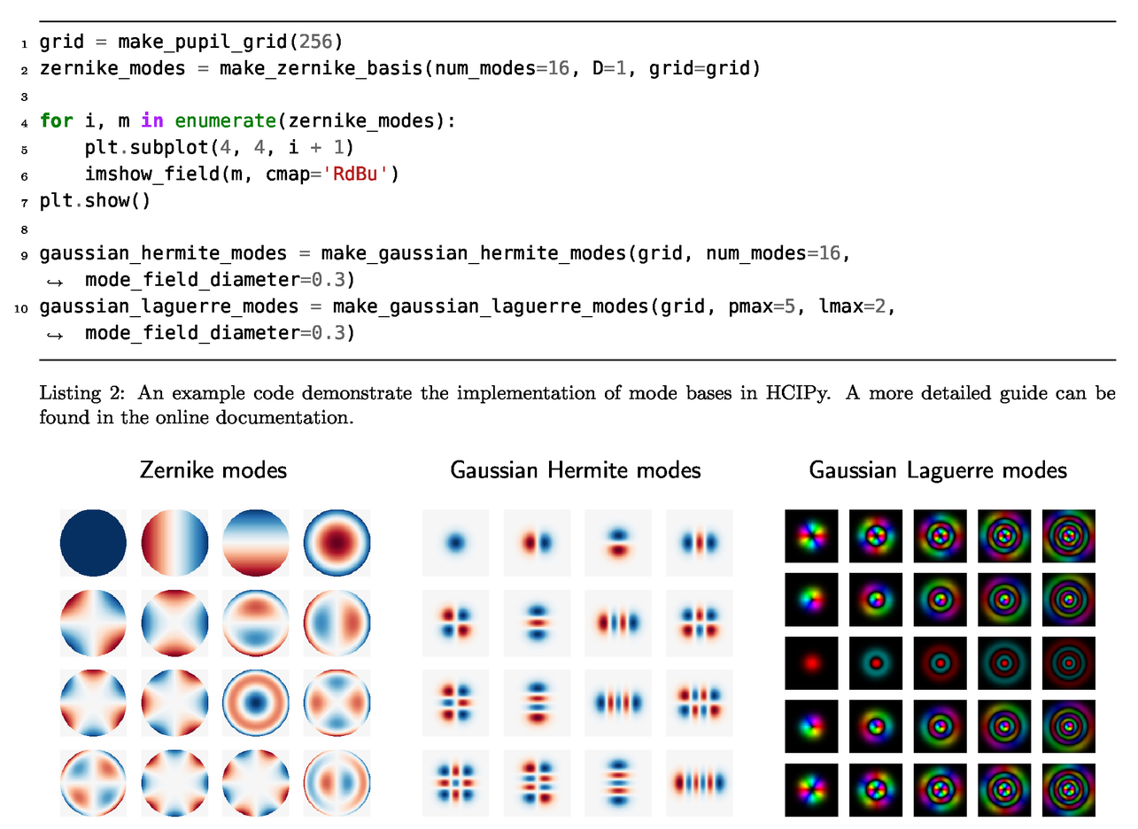 High Contrast Imaging for Python (HCIPy): an open-source adaptive