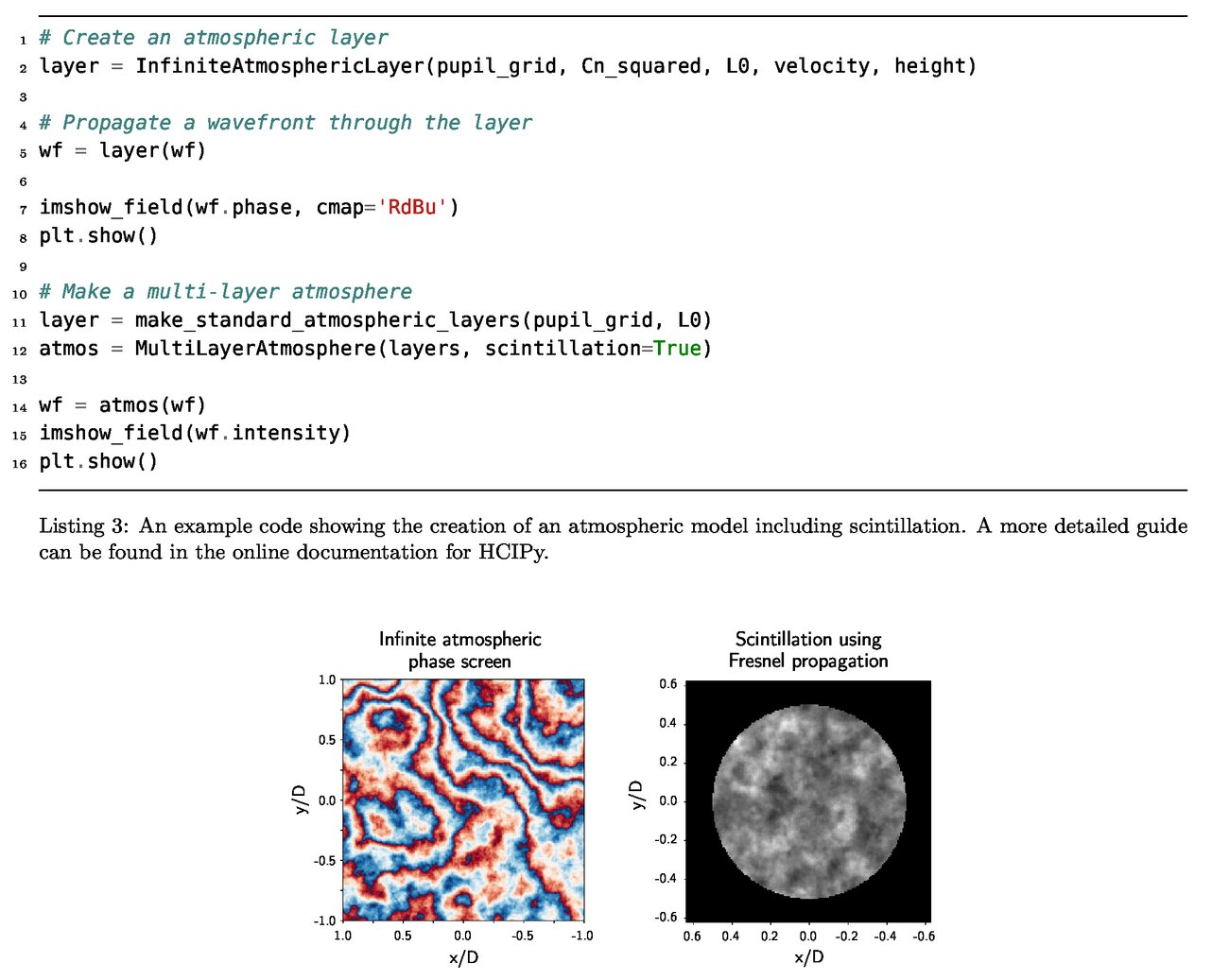 High Contrast Imaging for Python (HCIPy): an open-source