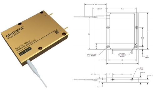 Thermal control analysis on a 6U CubeSat equipped with a